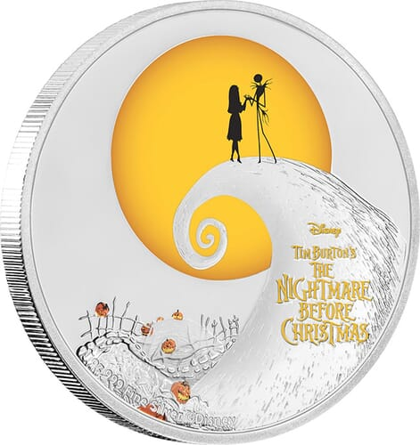 1 Oz Silver Coin Disney Tim Burtons The Nightmare Before Christmas 2020 Australia 2017 The Nightmare Before Christmas 1oz Silver Coin | Direct Coins